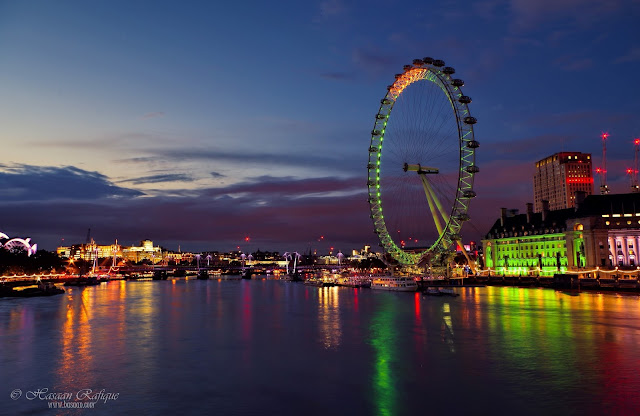 The London Eye & River Thames, London