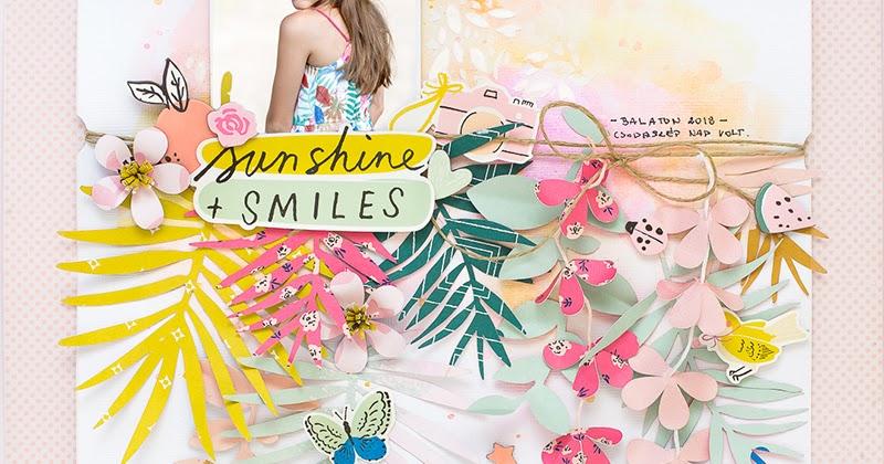 bea valint  summer dress inspired layout
