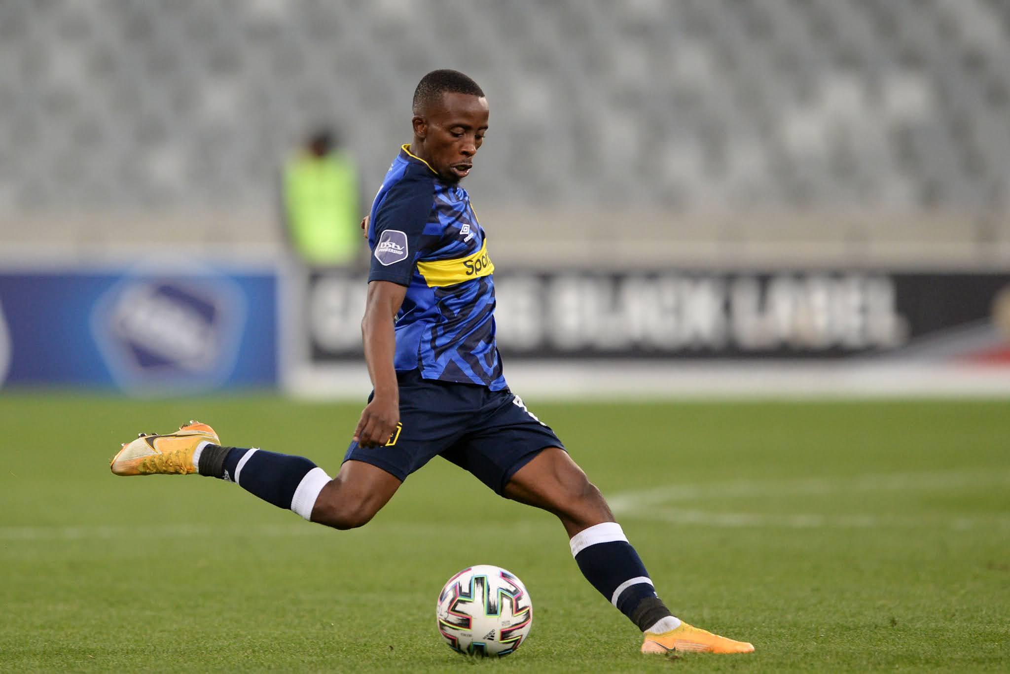 Cape Town City midfielder Thabo Nodada