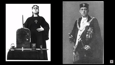 Aleister Crowley-satanista-mago negro-thelema