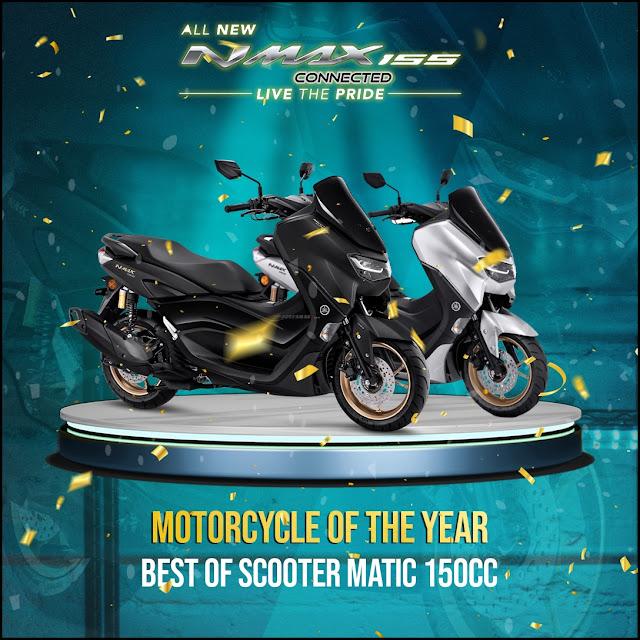 Berikut 9 Motor Yamaha Yang Memenangkan GridOto Award 2020, Kalian Setuju ???
