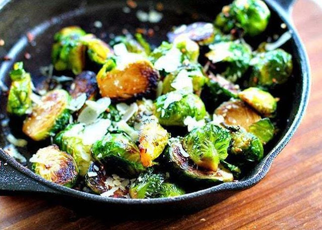 Parmesan Roasted Brussels Sprouts Recipe