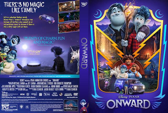 Onward DVD Cover