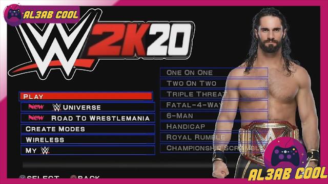 تحميل لعبة المصارعة الحرة WWE 2K2019 APK للأندرويد PPSSPP علي محاكي psp