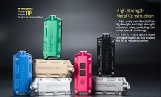 Nitecore TIP LED Keychain Light