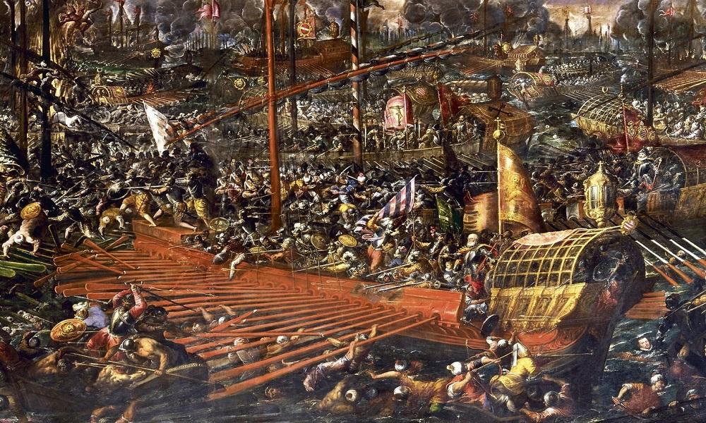 A batalha de Lepatano com Galés,