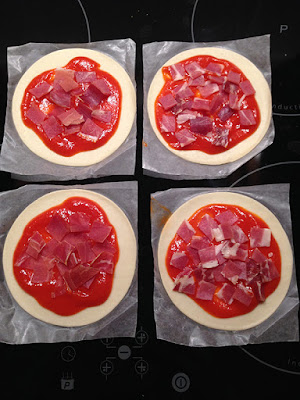 Minipizzas ingredientes
