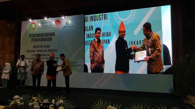 Delapan Unit PTPN VII Raih Penghargaan Industri Hijau 2019