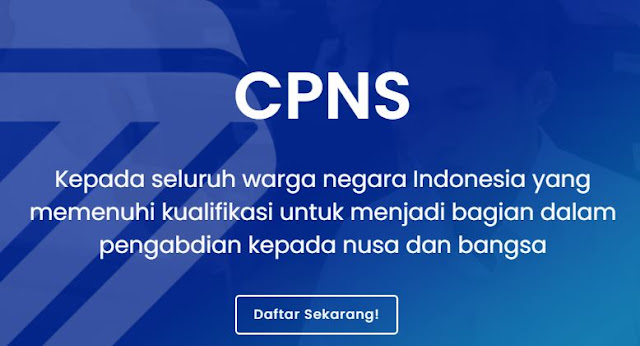 Persyaratan Pendaftaran CPNS 2021 Bagi Tenaga Kesehatan