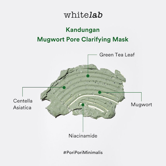Whitelab Mugwort Pore Clarifying Mask
