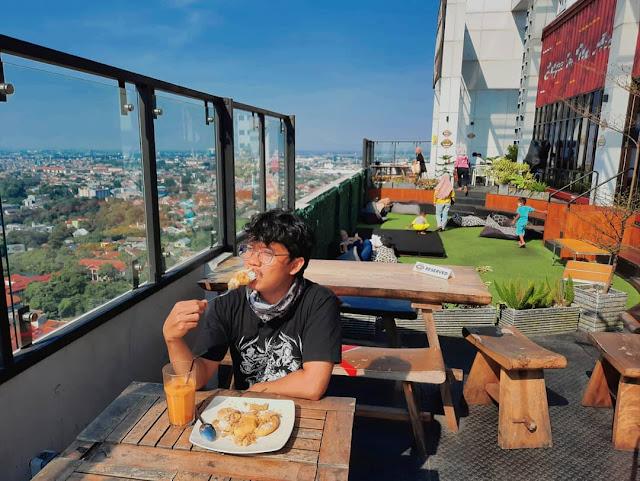 menu tamelo atap cafe rooftop depok