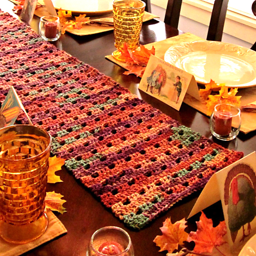 Table Runner - Free Pattern