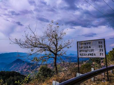 Narkanda hills