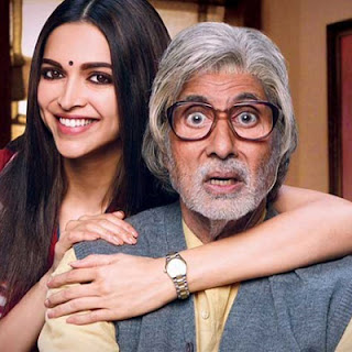 Bollywood stars Amitabh and Deepika Padkone