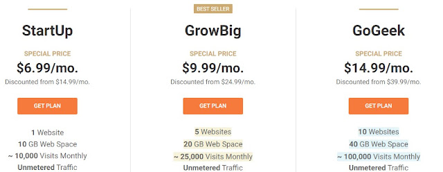 SiteGround pricing and discounts for beginners