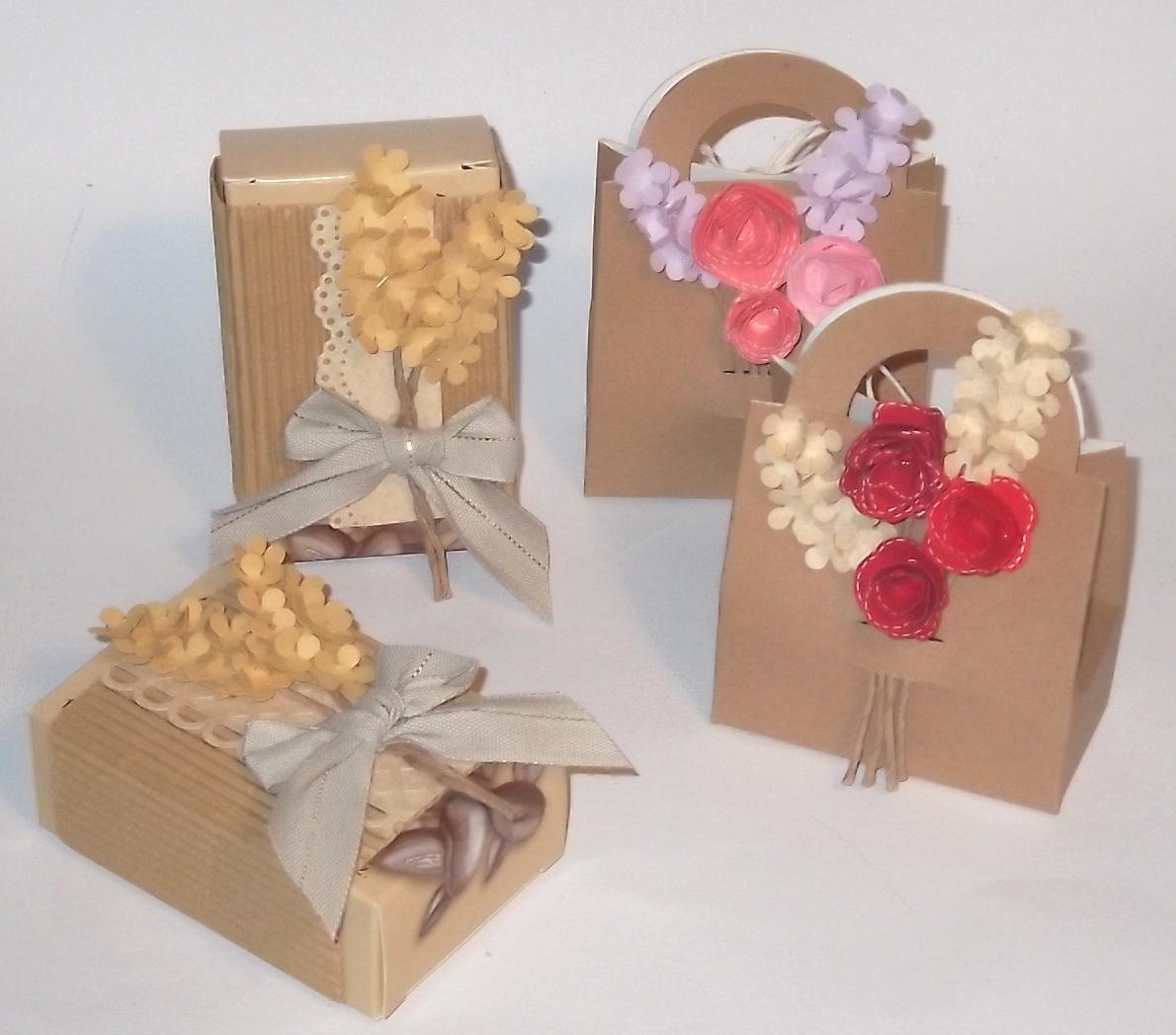cartoncino mio Piccole decorazioni floreali