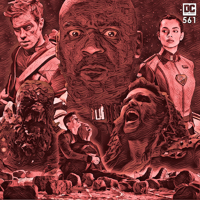 General Zod, Adam Strange, Lyta Zod, Doomsday, Seg-El, Nyssa Vex and Lobo - DC on SCREEN Episode 561