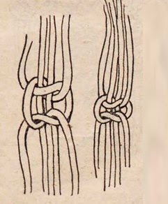 основной узел макраме