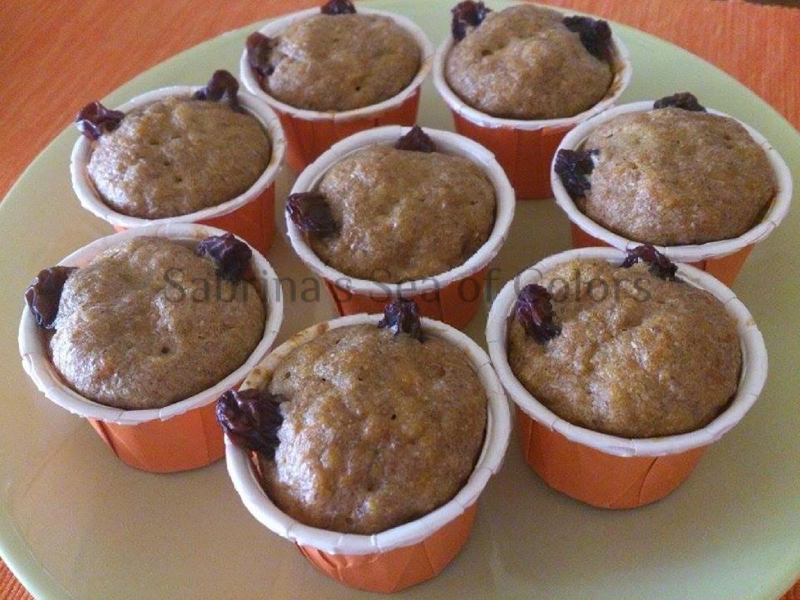Cupcakes de calabaza especiada