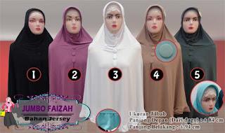 Grosir jilbab jersey jumbo terbaru serta murah meriah