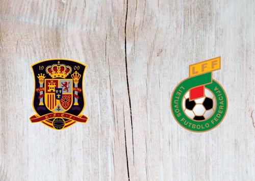 Spain vs Lithuania -Highlights 08 June 2021