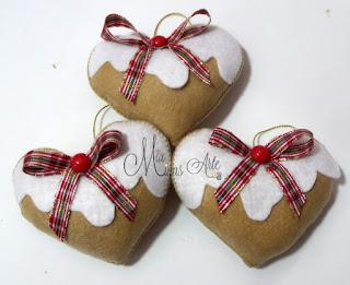 decoração de natal coracao