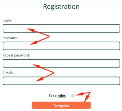 Регистрация в Robox Invest 2
