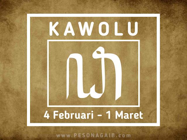 Ramalan Mangsa Kawolu (4 Februari - 1 Maret)