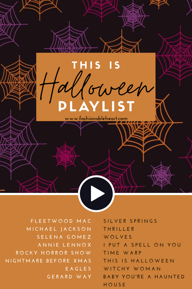 bblogger, bbloggers, bbloggerca, bbloggersca, this is halloween, playlist, spotify, lifestyle blog, fleetwood mac, annie lennox, haunting, halloween playlist