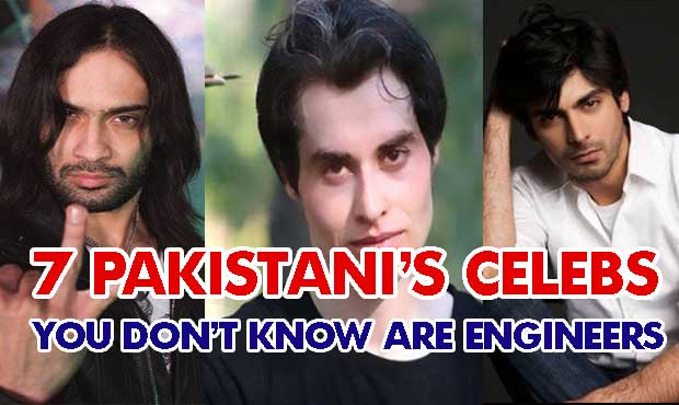 7 Pakistani Celebrities You don't know are engineers