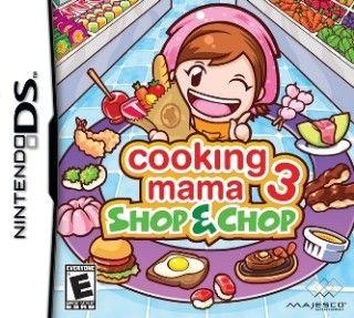 Descargar Cooking Mama 3 Nintendo ds, Español, mega, mediafire