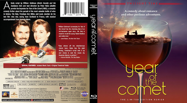 Year of the Comet Bluray Cover