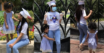 Teenage Mom Who Got Pregnant At The Age Of 14 Bags A Degree With Lovely Pictures