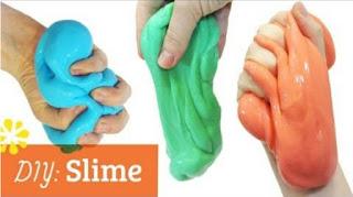 Cara membuat slime dari shampoo deterjen lem kertas lem fox tepung sunlight mama lemon