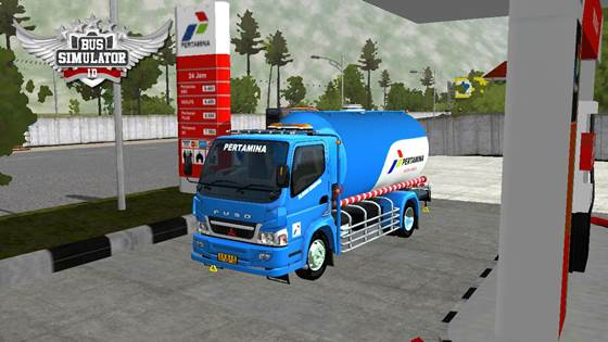 Mod Truck Tangki Canter