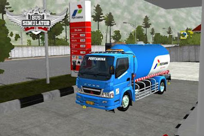 Kumpulan MOD Truck Tangki BUSSID Terbaru Plus Liverynya