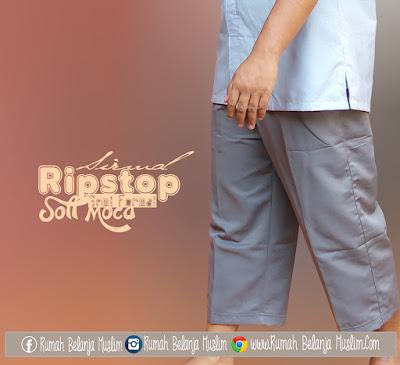 Sirwal Semi Formal Ripstop Soft Moca