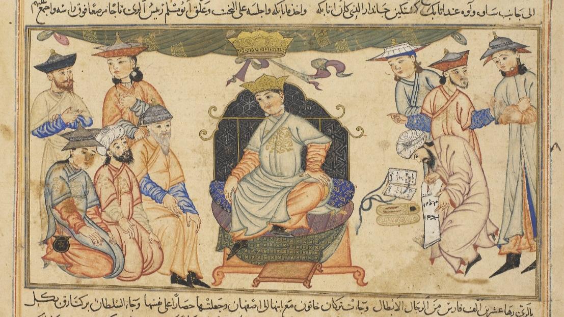 বারকিয়ারুক ইবনে মালিক শাহ। সেলজুক সুলতান মোহাম্মদ বারকিয়ারুক