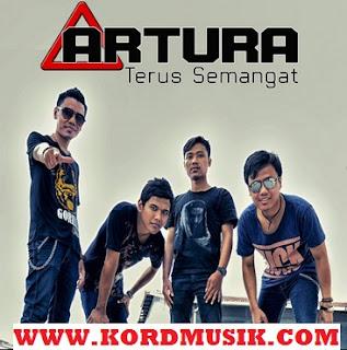Kunci Gitar Artura - Maaf Terus Semangat