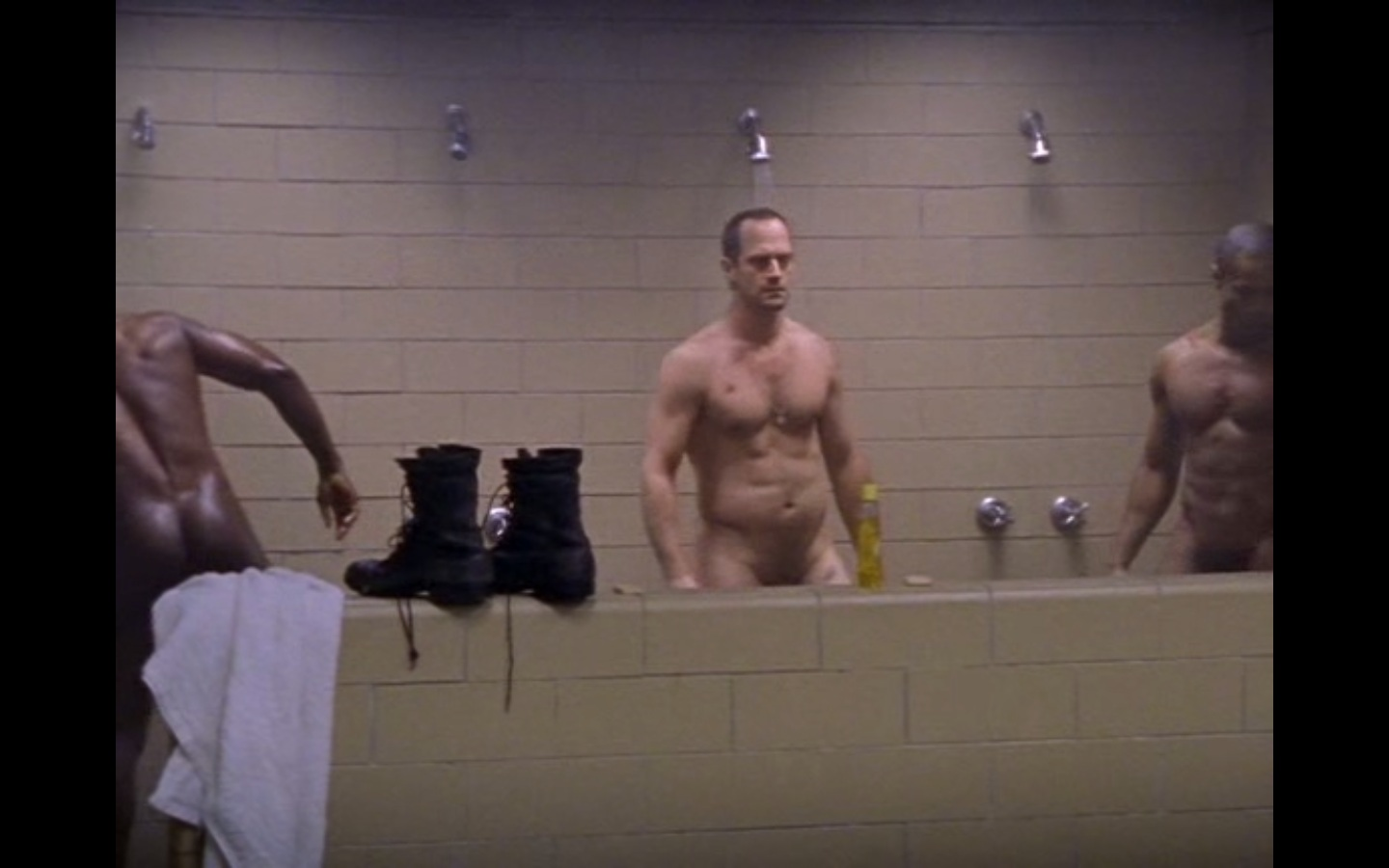 Something is. Christopher meloni naked pics for sale
