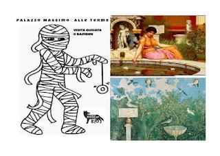 I giocattoli della Mummia e il giardino dell'Imperatrice - Visita guidata per bambini di Palazzo Massimo alle Terme