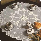 """Tapete ovalado """"Flores de primavera"""" a Crochet"""