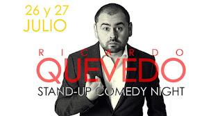 STAND-UP COMEDY NIGTH con Ricardo Quevedo