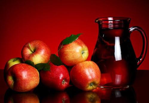 خل التفاح لتنعيم الشعر الخشن