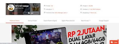 Pengalaman Beli Iphone KPC VIP Cellular (kinophonecell)