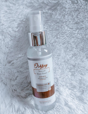 orkkay normal face toner
