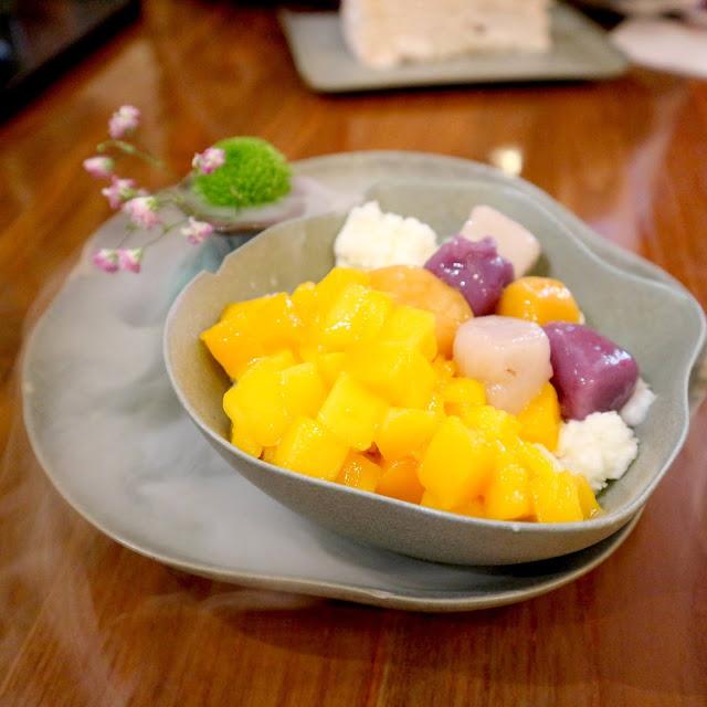 Le restaurant T'xuan à Paris propose des dessert originaux !