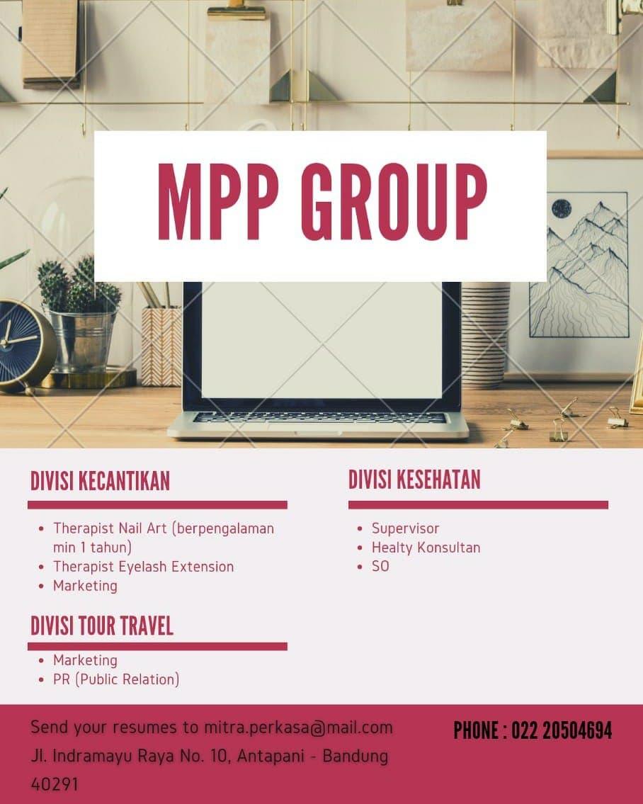 Lowongan Kerja MPP Group Bandung Januari 2021