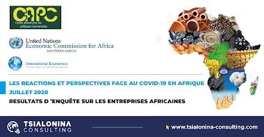 Résultats d'enquête : réactions et perspectives face au Covid19 en Afrique
