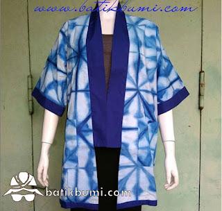 blus batik